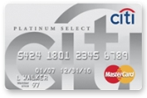 citi platinum select credit card