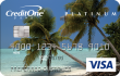 CreditOne cash back rewards card for bad credit