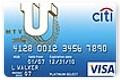 Citibank MTVU Student Card