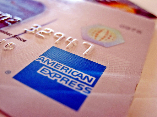 Amex Blue credit card