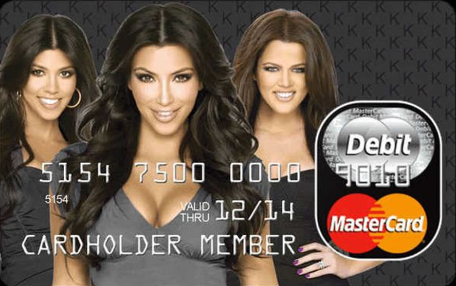 kardashian credit card