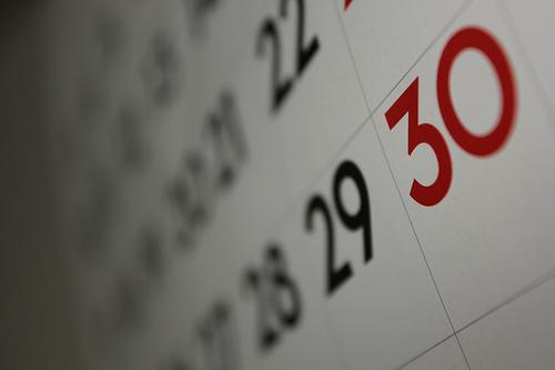 debt calendar